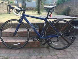 Lovely blue & white road bike, 46cm, Victoria Pendleton range, excellent condition, just serviced.