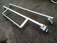 VAN Roof bars + Ladder Roller