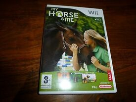 Wii Game excellent used condition My Horse & Me for ages 3+