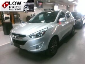 2014 Hyundai Tucson GLS*Leather*PanoRoof*HtdSeats*Camera&Warrant