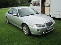 rover 75 connoissier 2.5 v6 later shape low mileage 2004 good condition