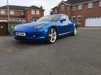 Mazda rx8 in top conditional recently rebuilt may px