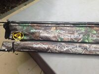 Shimano Tribal LC 12ft 3lb rods x 3