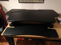 Table top Sit down/Stand up Desk