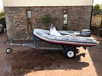Rib Boat -Yamaha Ribeye 3.3 m