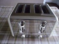 EGL 4 Slice Stainless Steel Toaster