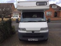 Autohomes Windward Peugeot Boxer 2.5ltr Turbo Diesel 6 Berth 1999