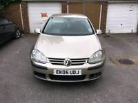 Volkswagen Golf 1.6 FSI petrol 5dr Manual