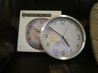 Wall clock,new boxed