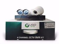 Fantastic CCTV DVR Kit with 4 Cameras with (Boxed Unused)