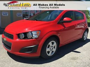2015 Chevrolet Sonic LS Auto $76.26 BI WEEKLY! $0 DOWN! 2015 & 2