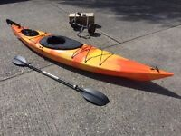 Single Canoe With Free Spray Deck