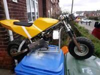 Midimoto mini moto kids motorbike DR 50?