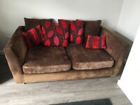 2/3 seater sofa & armchair - good condition £20
