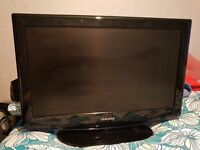 """Samsung 32""""LCD Television 3 HDMI Ports VGA with Remote Control £90 Can Deliver Within Reason"""