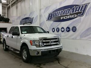 2014 Ford F-150 Supercrew XLT W/ 5.0L V8 Engine, Power windows