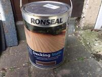 Ronseal Decking Stain 5L - Colour Rich Teak £20
