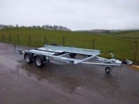 IFOR WILLIAMS CT136HD CAR TRANSPORTER (BRAND NEW)