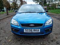 2006 Ford Focus SPORT T 1.6 16v.NEW FULL MOT.NEW OIL+FILTER.NO ADVISORY.BLUE.LOW MILAGE 81K.FSH.VGC.