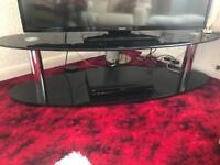 Smoked glass TV unit