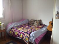 Beautiful double room for sublet in West End vegan friendly flat