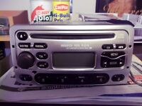 Ford 6000 CD Player With Code For Fiesta Focus Escort Mondeo