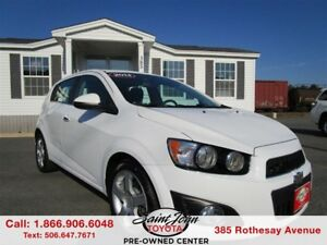 2014 Chevrolet Sonic LT Auto $107.23 BIWEEKLY!!!