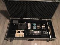 Pedalboard and pedals