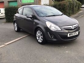 2012 Vauxhall Corsa 1.2 i 12v Active 3dr, One Owner 39000 miles FSH, Finance Available
