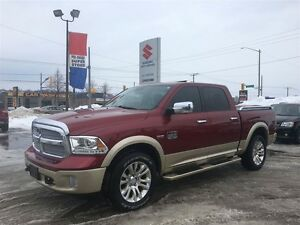 2014 Ram 1500 Longhorn Crew Cab 4X4 ~Nav ~Dripping In Options ~8