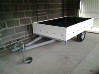 Trailer 6ft6 by 4ft galvanised