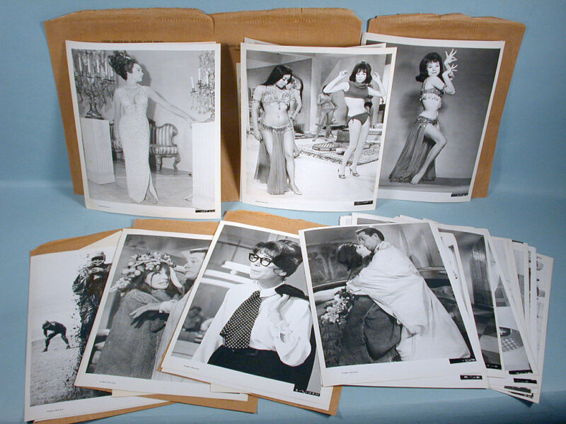 1965 Shirley MacLaine John Goldfarb 6 Photo Press Packages 26 Stills + Info Shts