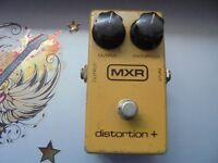 MXR 1970's Distortion + pedal