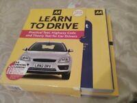 AA Learn to drive books