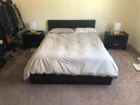 King Size Bed + Mattress (5FT)