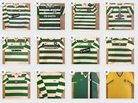Celtic FC football strips & various other clubs job lot