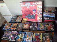 Saga Megadrive 2 Mega 6 Boxed + 24 high value games