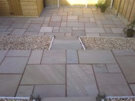 Premium Natural Raj Blend Indian Sandstone Paving Slabs | Garden | Patio | 19m2