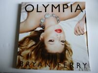 NEW - OLYMPIA BY BRYAN FERRY SET WITH PHOTO BOOK OF KATE MOSS - 3 CD SET AT BACK OF BOOK