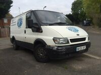 Ford Transit Van 2005 SWB 260 2.0 Diesel Engine Full MOT