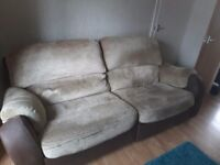 3 seater sofa and chair recliner