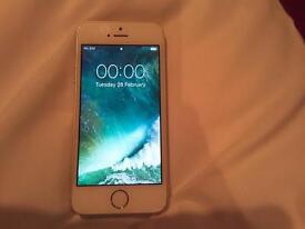 IPhone 5s 16gb White & Gold Unlocked
