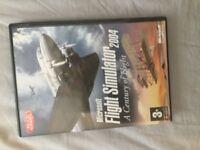 Microsoft flight simulator 2004 with 2 expansion packs