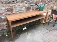 Oak dresser table
