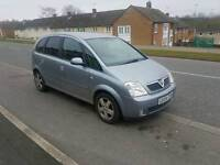 Vauxhall Meriva 04 good ideal for family in good condition long MOT px options available
