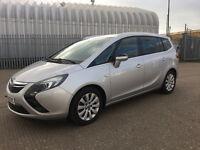 2013(63) Vauxhall Zafira Tourer 2.0 CDTi ecoFLEX 16v Tech Line 5dr (start/stop) **7 Seater**