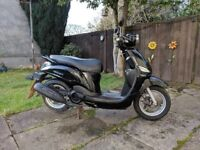 Yamaha XC 115 S DELIGHT, Black, Learner Legal, 2014