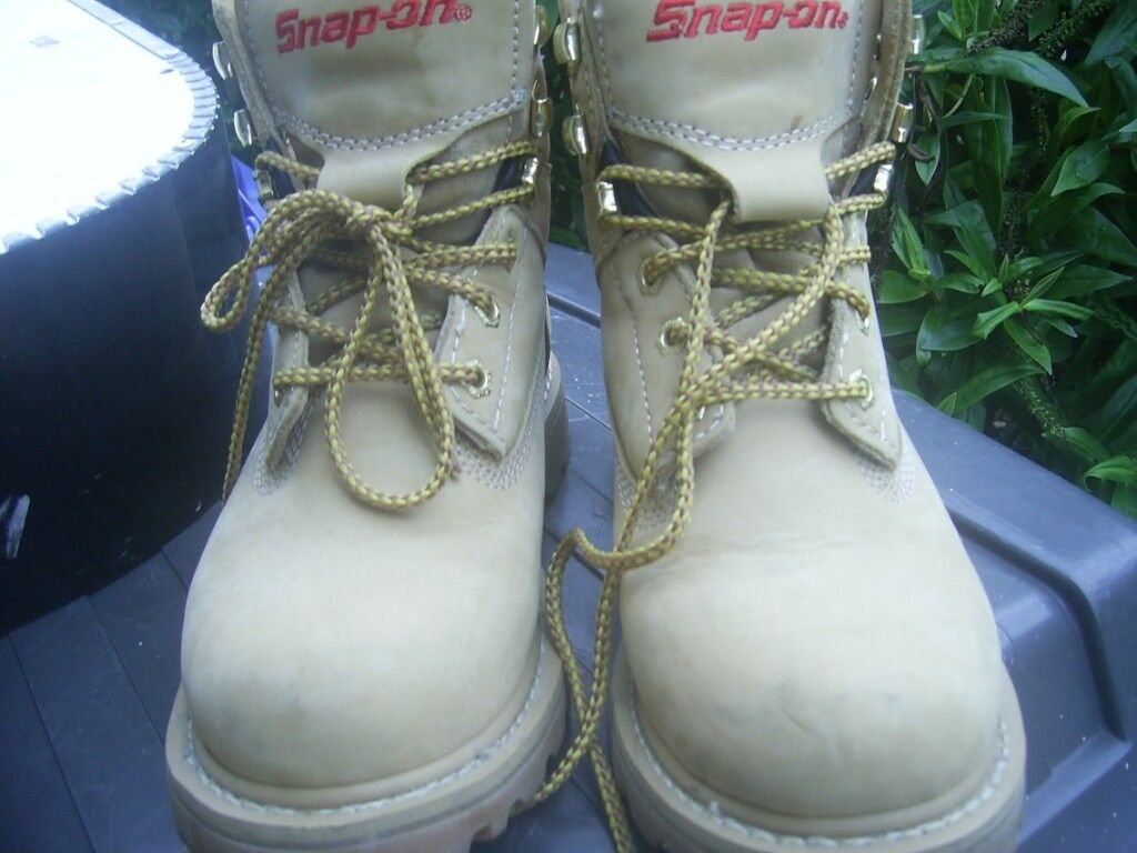 d6336eb807a Snap-on VR6 Tan Size 5 Boots worn once not steel toe caps excellent  condition | in Denton, Manchester | Gumtree