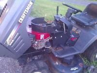 lawnmower parts several tractors