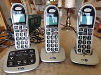 BT4500 Big Button Cordless Phone witb Answer Machine